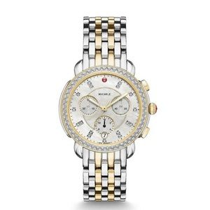 Sidney two tone diamond dial watch 2018